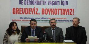 13 Şubat boykotu için hazırlıklar sürüyor (İl il programlar)