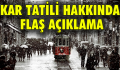 İstanbul'da öğrencileri sevindiren haber