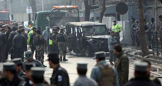 Kabil'de Türk diplomatlara intihar saldırısı: 1 şehit