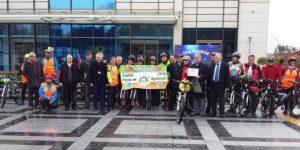 Yaşanabilir Doğa İçin Sarı Bisiklet Turnuvası Yapıldı.
