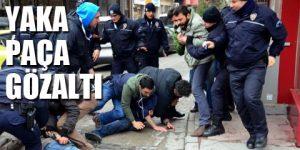 Erdoğan protestosuna 8 gözaltı
