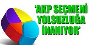 'AKP tabanı Erdoğan'ı istemedi'