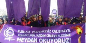 Kadıköy'de binlerce kadın buluştu