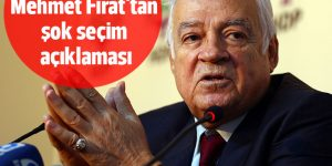 Dengir Mir Mehmet Fırat'tan şok seçim açıklaması
