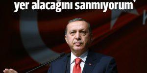 Erdoğan: ABD'nin bir katilin arkasında yer alacağını sanmıyorum