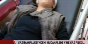 Gazi Mahallesi'nde 14 yaşında kız çocuğu gaz fişeğiyle başından vuruldu