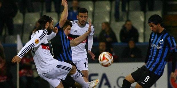 Beşiktaş sonunu getiremedi: 2-1