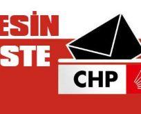 İşte CHP'nin milletvekili aday listesi