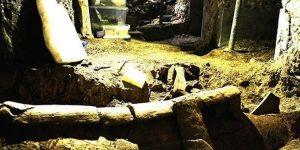 Beyoğlu'nun altında 1500 yıllık Bizans mezarları çıktı