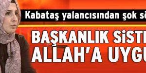 Halime Kökçe'den Başkanlık yorumu