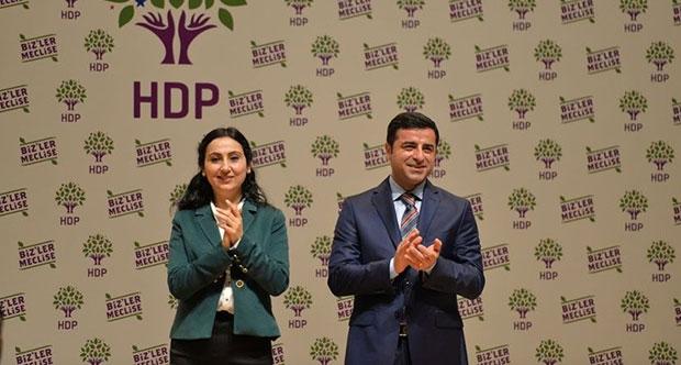 HDP Seçim bildirgesini açıklıyor.