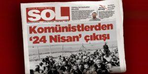 Komünist Parti'den 24 Nisan açıklaması