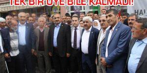 Böylesi hiç olmadı…Tüm üyeler HDP'ye geçti.