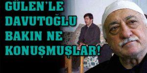Gülen ile Davutoğlu neyi görüştü?