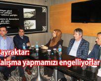 Rahat Bırakın AKP ilçe başkanını da çalışsın..!