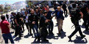 Erzurum'da büyük provokasyon… 38 yaralı