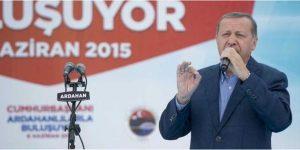 Erdoğan: Özür dileyecek biri varsa sensin sen