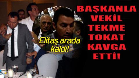 AKP'liler iftarda birbirine girdi