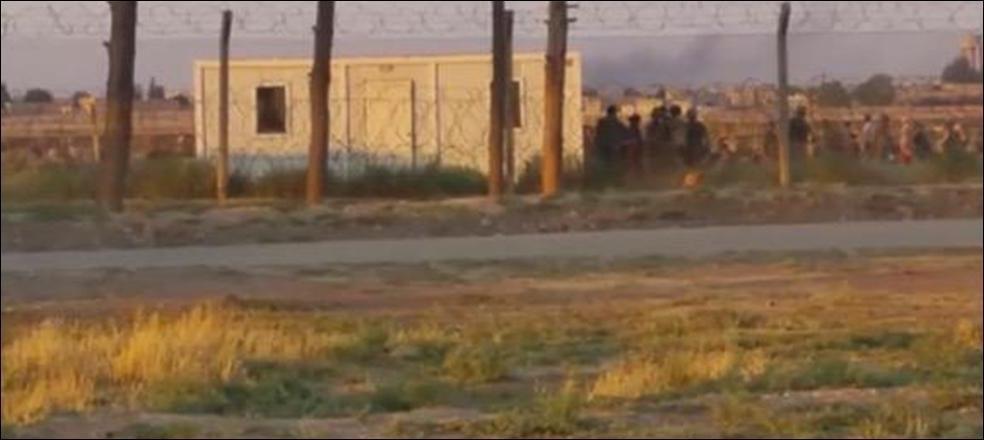 IŞİD Telabyad'a geri döndü… Şiddetli çatışmalar sınırdan görülüyor
