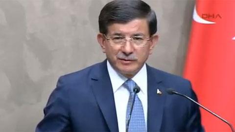 Davutoğlu'ndan IŞİD operasyonu şifreleri