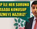 Demirtaş'tan MHP'ye flaş çağrı.