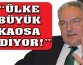 'CHP masadan kalkan taraf olmayacak!'