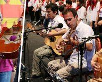 Joan Baez'den Grup Yorum'a