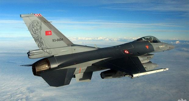 F-16'lar bu sabah IŞİD hedeflerini bombaladı
