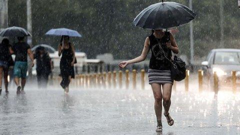 Yağış uyarısı…