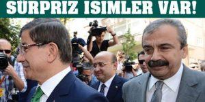 Davutoğlu 'ılımlı HDP'lileri' isteyecek