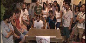 Kamp Armen gönüllülerine saldırı.