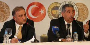 Fenerbahçe'den AKP'li Şahin'e: Bizi siyasete sokmayın.