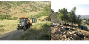 TUNCELİ'DE 90'LARA DÖNÜLDÜ BİLE