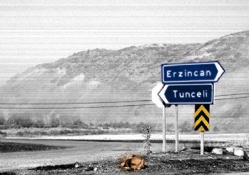 Tunceli-Erzincan yolu yine kapandı