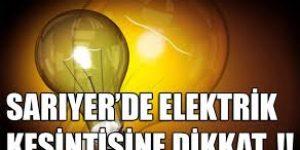 Sarıyer'de elektirik işkencesi!