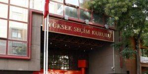 YSK'nın gerekçeli kararı tamamlandı.