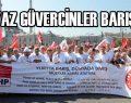 CHP Galata'da barış için yürüdü.