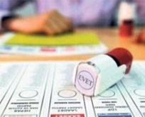 Oy pusulasında sıralama belli oldu.
