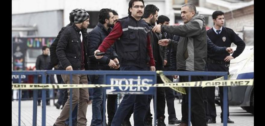 Hükümet protestosuna gözaltı.