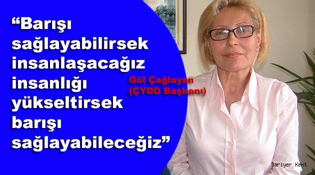 ÇYDD Başkanı: Barış yaşamsal önceliğimiz