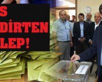 AKP'nin sandık oyunu
