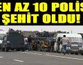 Iğdır'da polis servisine saldırı.