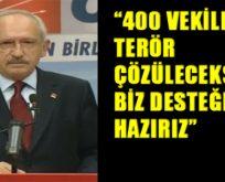 Kılıçdaroğlu'ndan AKP'ye çağrı!