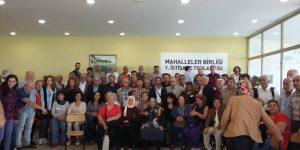 Sarıyer'de Mahalleler Birliği Toplantısı.