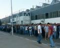 Renault işçisi eylemi sürdürüyor.