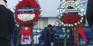 Polis cenazesinde Erdoğan'a tepki.