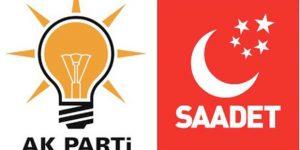 AKP-Saadet ittifakında hareketli gece