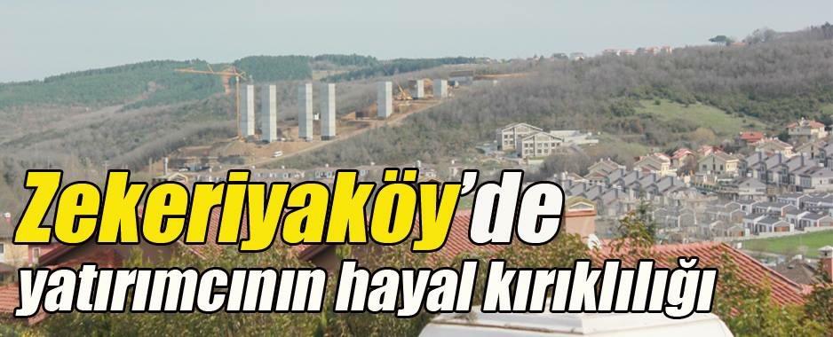 Zekeriyaköy'de Viyadük manzaralı milyon dolarlık villalar!