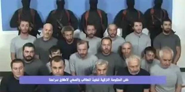 Irak'ta kaçırılan 16 Türk işçi 28 gün sonra serbest bırakıldı