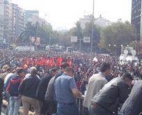 Binler anma için toplandı.